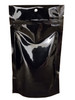 medium size bulk stand up pouches in black