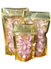 gold clear stand up pouches wholesale bulk