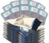 (100) Quart  mylar bag with 300cc oxygen absorbers