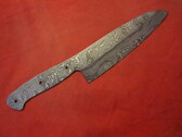 Alabama Damascus Chef Blade / ADS0108-DKG