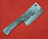Alabama Damascus Blank - Cheese Knife / ADS0113-DKB