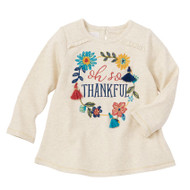 Mud Pie Thanksgiving Tunic - THANKFUL