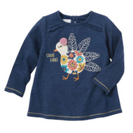 Mud Pie Thanksgiving Tunic - GOBBLE