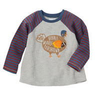 Mud Pie Thanksgiving T-Shirt - TURKEY TOUCHDOWN