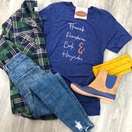 Flannels, Pumpkins, Boots, & Hayrides Tee
