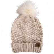 Simply Southern Knit Pom Beanie - TAUPE