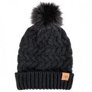 Simply Southern Chunky Knit Pom Beanie - BLACK