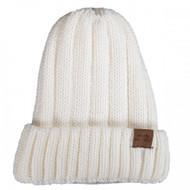 Simply Southern Knit Beanie - WHITE