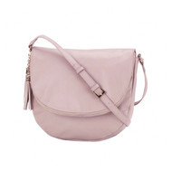 Sienna Tassel Bag - BLUSH