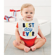 Mud Pie Best Day Ever Bib