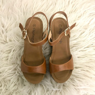 Mara Tan Wedges
