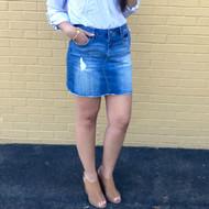 The Charlotte Denim Skirt