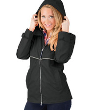 New England Rain Jacket - BLACK