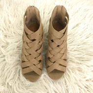 Horizon Natural Weaved Heels