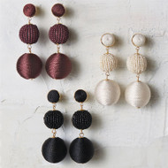 Mud Pie Tiered Ball Drop Earring