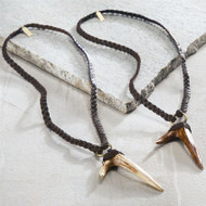 Pie Antler Pendant Necklace