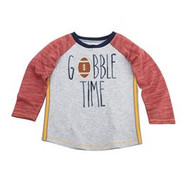 Mud Pie Thanksgiving Football Tees - GOBBLE TIME