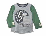 Mud Pie Football Tees - FAVORITE SEASON