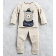 Mud Pie Bear Two Piece Set