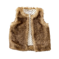 Mud Pie Faux Fur Vest