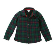 Mud Pie Alpine Village Button Down Shirt - GREEN