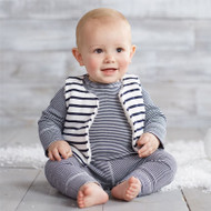 Mud Pie Navy Stripe Three Piece Set
