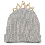 Mud Pie Tiara Cap - GREY