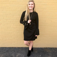 Make An Appearance Dress - BLACK
