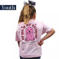 YOUTH Simply Southern Lulu Valentine Tee