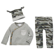 Mud Pie Camouflage Take Me Home Set