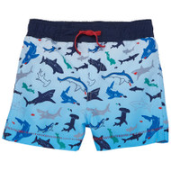 Mud Pie Snorkel Shark Swim Trunks