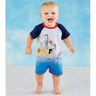 Mud Pie Pirate Shortall
