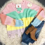 Pretty New Beginnings Sweater