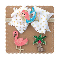 Mud Pie Mermaid 3-in-1 Bow Set