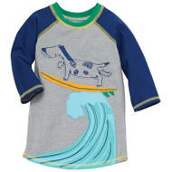 Mud Pie Dog Surfing Rash Guard