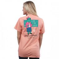 Simply Southern Teach Peachy Tee
