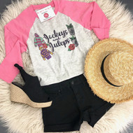 Jockeys And Juleps Derby Raglan