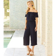 Mud Pie Jasmine Jumpsuit - NAVY