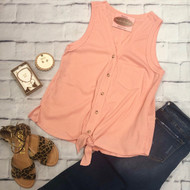 This Is It Tank - PEACH