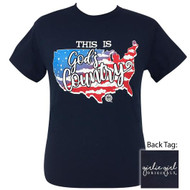 Girlie Girl God's Country Tee