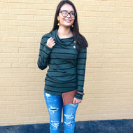 Cool Nights Evergreen Sweater