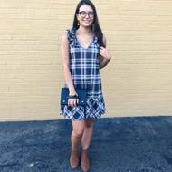 Plaid As Me Dress