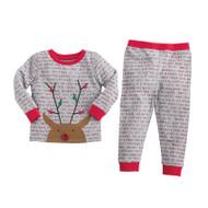 Mud Pie Rudolph Boy Pajamas