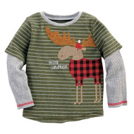 Mud Pie Christmas Sheldon Tee - MOOSE