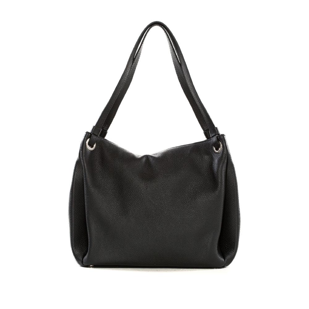 Arcadia Black Hobo Bag