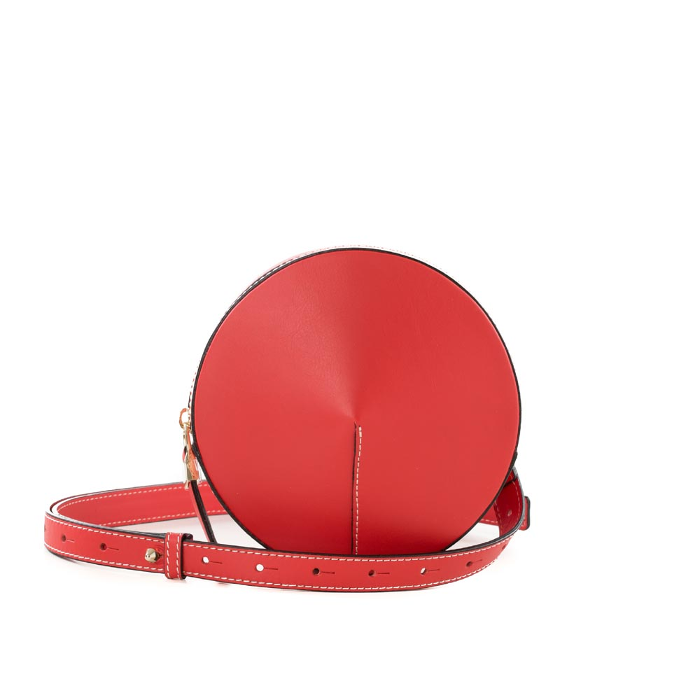 Arcadia small round bag red