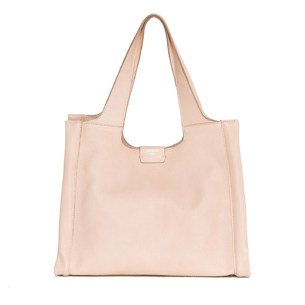 Arcadia shoulder bag in pink