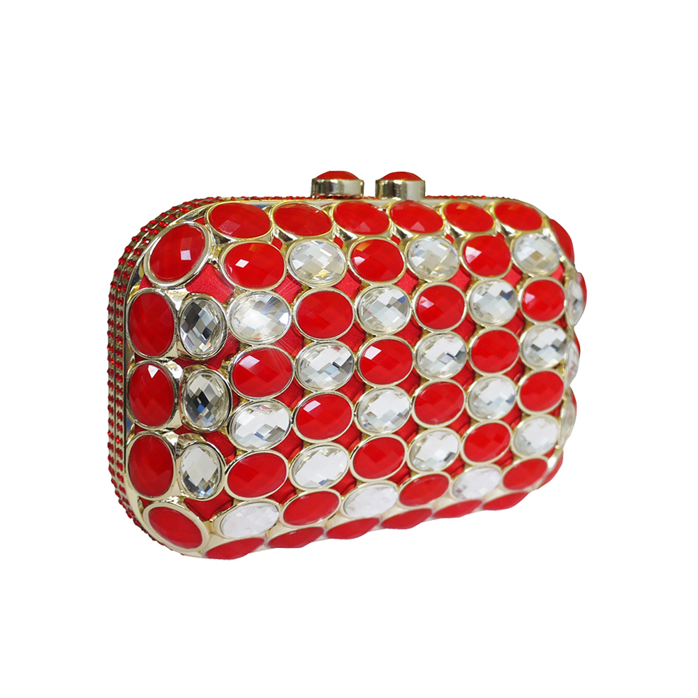 Anna Cecere Jeweled Clutch