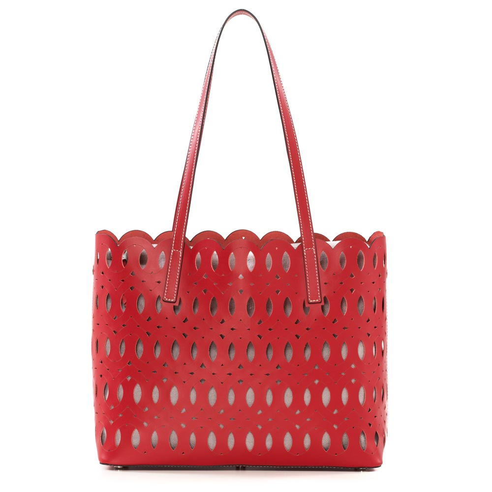 Arcadia Fret Shopper Red