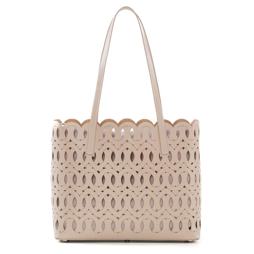 Arcadia fret work bag